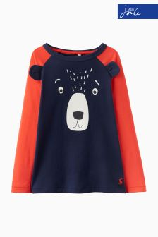 Joules Navy Character Top