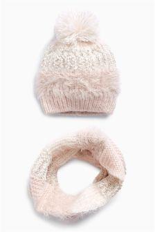 Hat And Scarf Set (Older Girls)