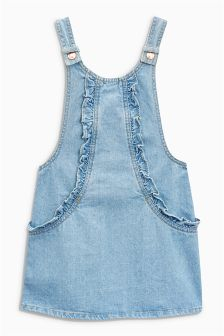Ruffle Pinafore (3-16yrs)