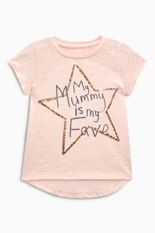 Mum Sequin T-Shirt (3mths-6yrs)