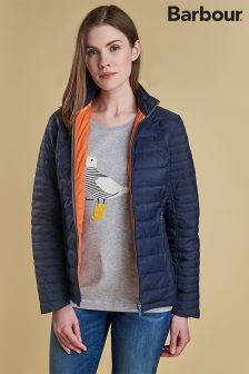 Barbour® Navy Chock Quilt Jacket