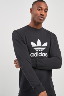 adidas Originals Trefoil Crew Sweat Top