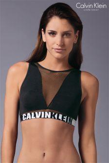 Calvin Klein Black Mesh Bralette