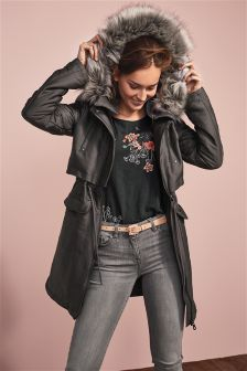 Buy Women's coats and jackets Jackets Grey Petite from the Next UK ...