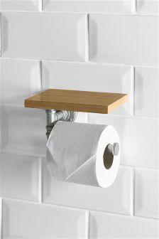 Hudson Light Toilet Roll Holder