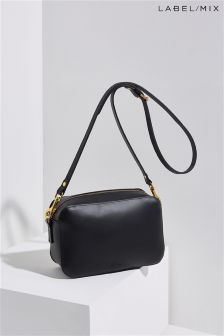 Mix/Mimi Berry Leather Sibell Bag