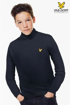 Lyle & Scott High Neck Long Sleeved Tee