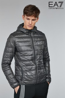 Emporio Armani EA7 Grey ID Packable Jacket