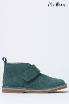 Boden Green Velcro Desert Boot