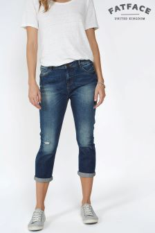 Fat Face Storm Straight Leg Crop Jean