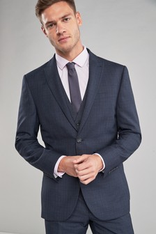 Check Slim Fit Suit