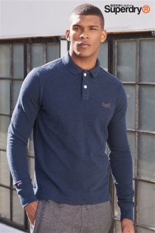 Superdry Classic Long Sleeve Pique Polo