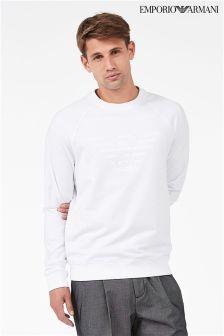 Emporio Armani Embossed Sweatshirt