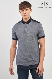 Armani Exchange Contrast Collar Poloshirt