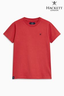Hackett Red Logo T-Shirt