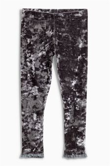 Crushed Velvet Leggings (3-16yrs)
