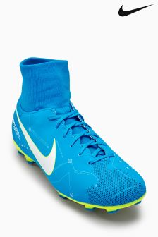 Nike Blue Orbit Mercurial Victory Firm Ground