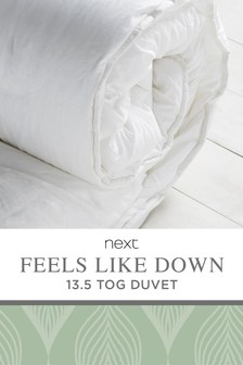 Feels Like Down 13.5 Tog Duvet