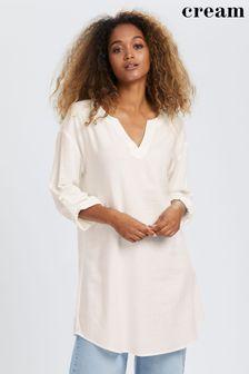 Warehouse Orange Embossed Soft Pocket Tote Bag