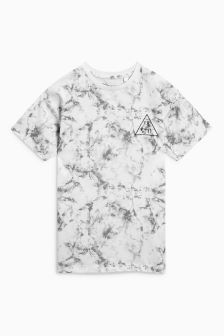 Marble Print T-Shirt (3-16yrs)