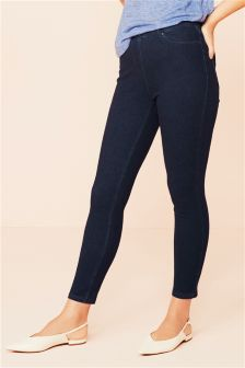 Jersey Denim Leggings