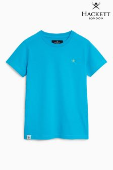 Hackett Turquoise Logo T-Shirt