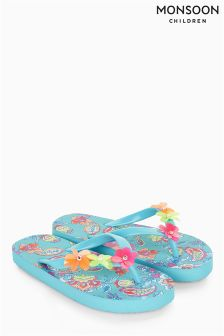 Monsoon Blue Multi Cosima Print Flip Flop