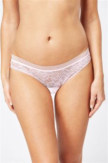 Lace Brazilian Briefs In Gift Bag