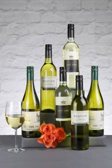 6 Bottles Chilling Whites Wine Selection