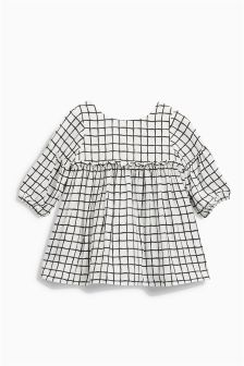 Grid Dress (0mths-2yrs)