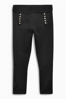 Military Ponte Leggings (3-16yrs)