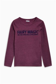 Fairy Magic Long Sleeve T-Shirt (3-16yrs)