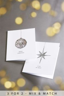 12 Photographic Bauble Cards