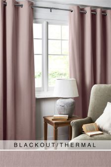 Cotton Studio* Eyelet Blackout Curtains