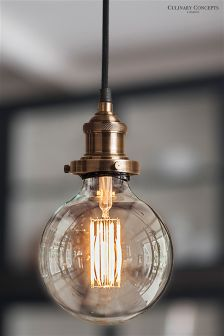 Culinary Concepts Brass Lighting Fitment For Bulbs