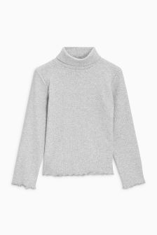 Roll Neck Top (3mths-6yrs)