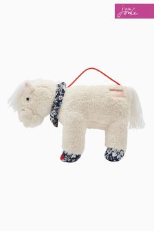 Joules Cream Horse Character Bag