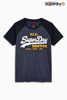 Superdry Raglan Script Logo T-Shirt