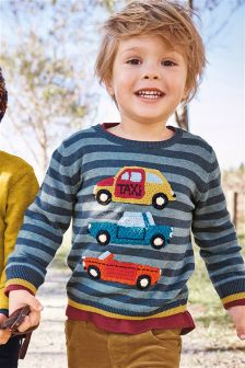 Crochet Car Sweater (3mths-6yrs)