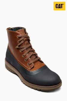 CAT® Tan/Navy Radley Waterproof Boot