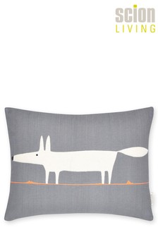 Scion Mr Fox Charcoal Cushion