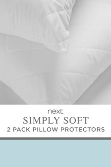 Set Of 2 Studio Pillow Protectors Studio Collection By Next
