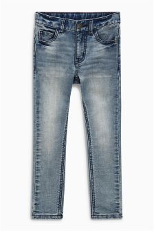 Super Skinny Jersey Denim Jeans (3-16yrs)