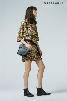 Warehouse Multi Garden Posy Shift Dress