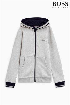Hugo Boss Fleece Zip Through Hoody