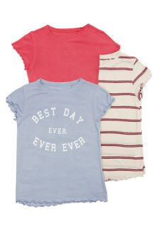 Short Sleeve T-Shirt Three Pack (3-16yrs)