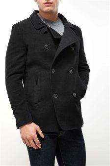 Moleskin Double Breasted Coat