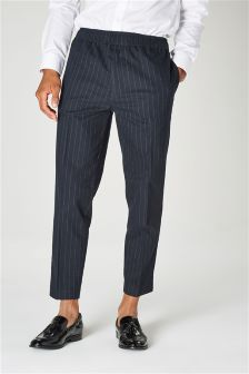 Taper Pin Stripe Trousers
