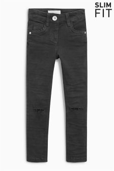 Knee Ripped Skinny Jeans (3-16yrs)