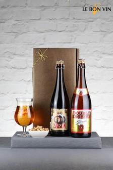2 Bottles The Big Belgian Beer Appreciation Gift